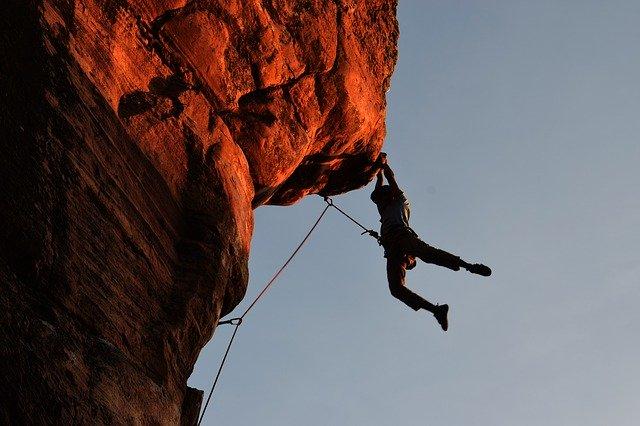Bergbeklimmen en Klauteren